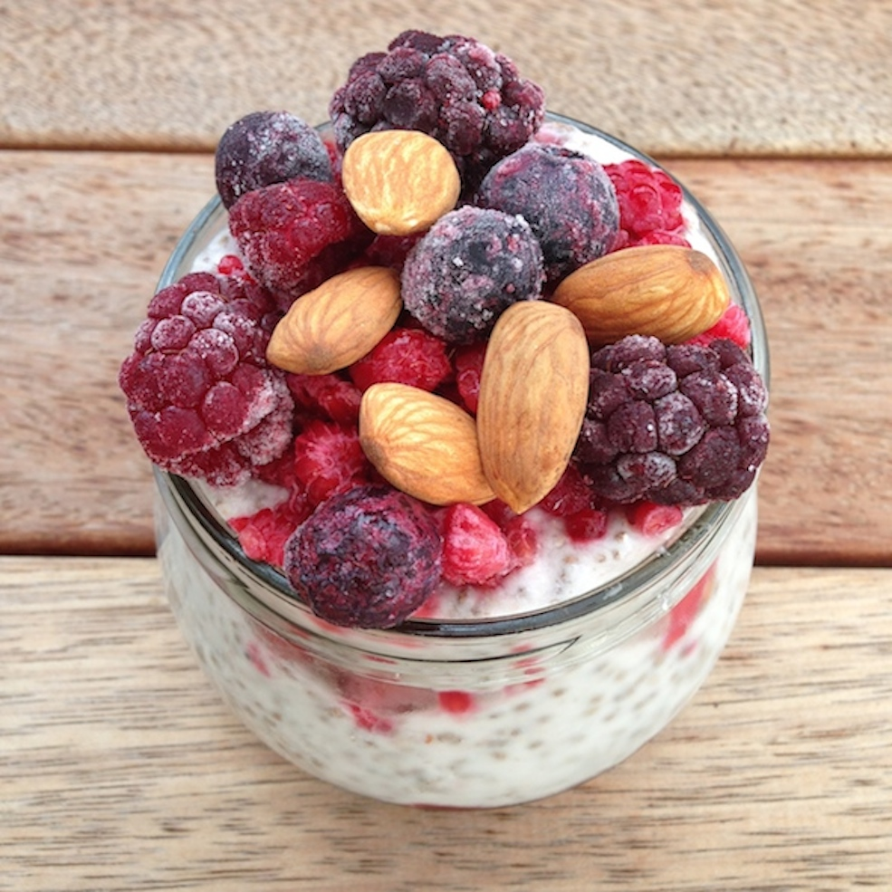 Berry Almond Chia - Raw till Four