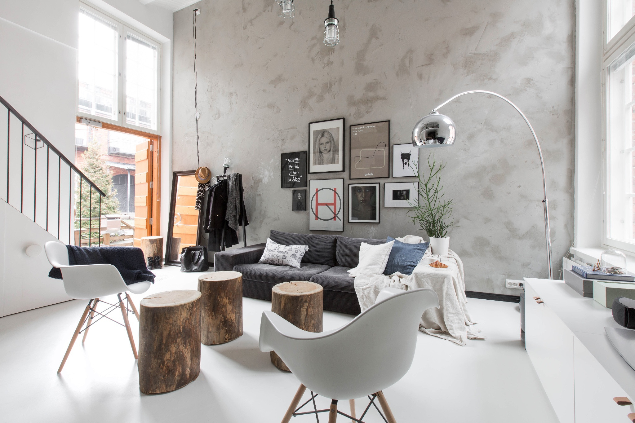 Loft Living With Scandinavian Style Home Scene Journal