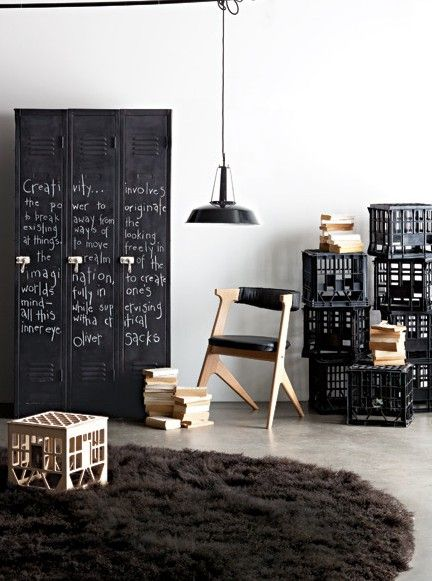 Locker, upcycle, furniture, styling, inspiration