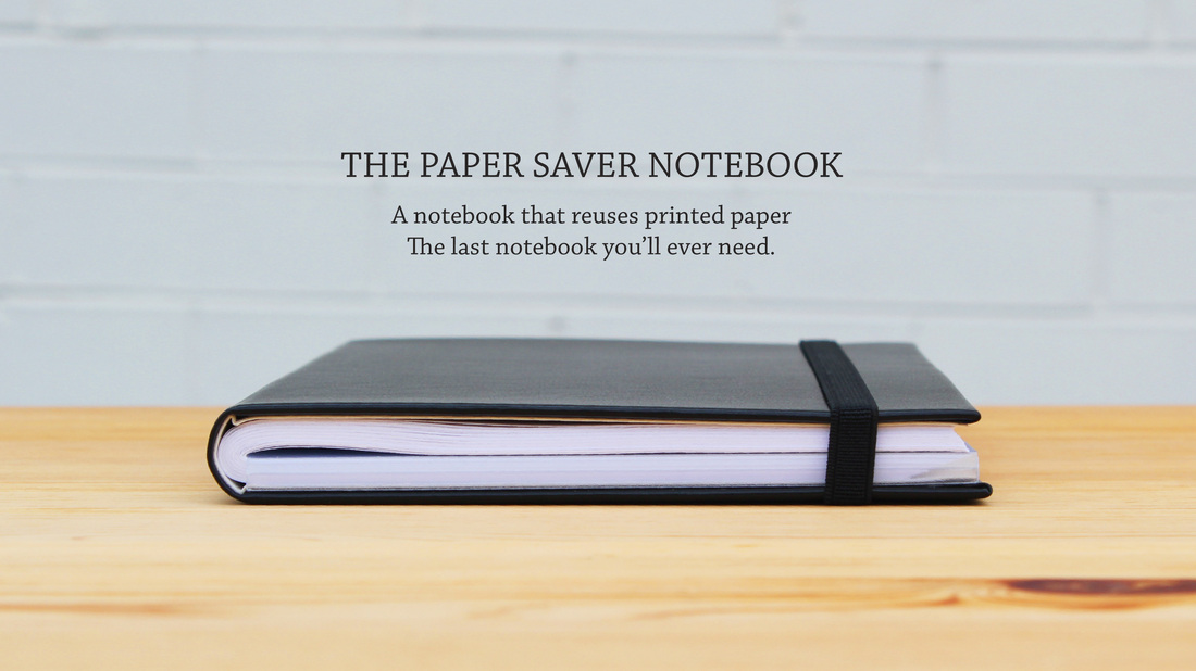 Paper Saver: the eco-friendly notebook with style