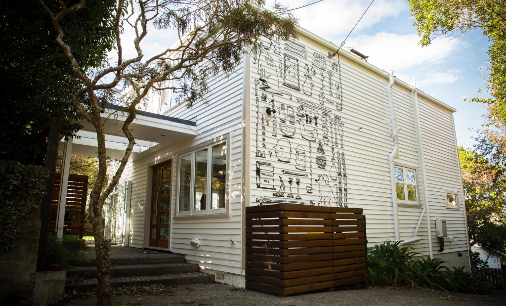 Commissioned Exterior, Wellington, Photo by Blake Dunlop