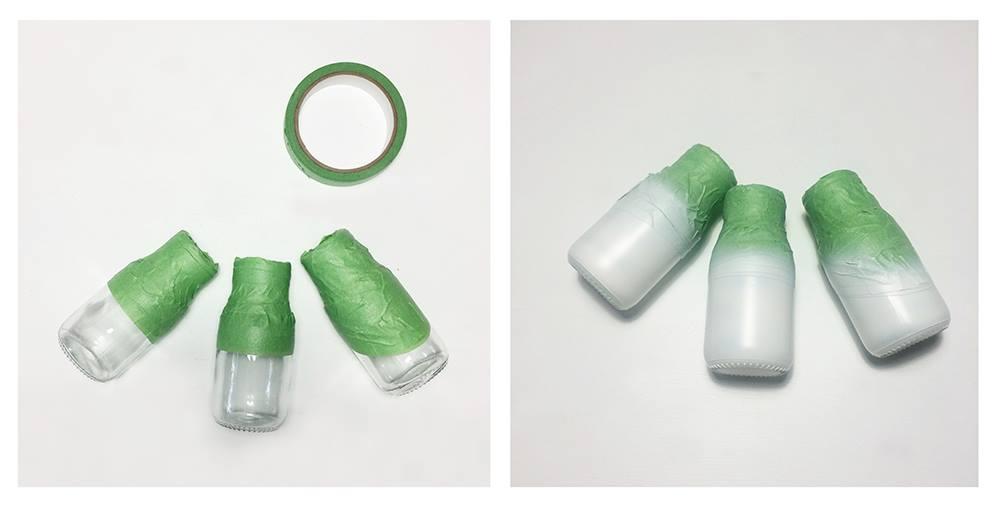 DIY marble bottles
