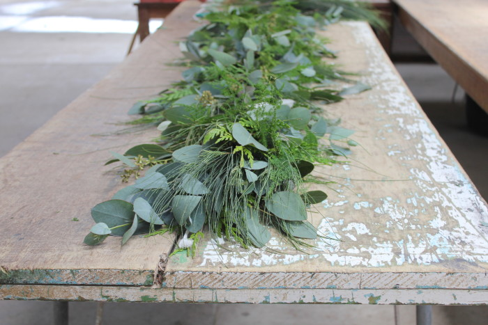 Foliage, Centrepiece, Amelia Addis, Christmas, Table setting, Styling