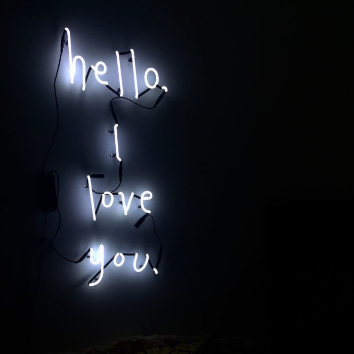Somekind, Hello I love you, Neon lights, kids, kids interiors, interiors, lighting,