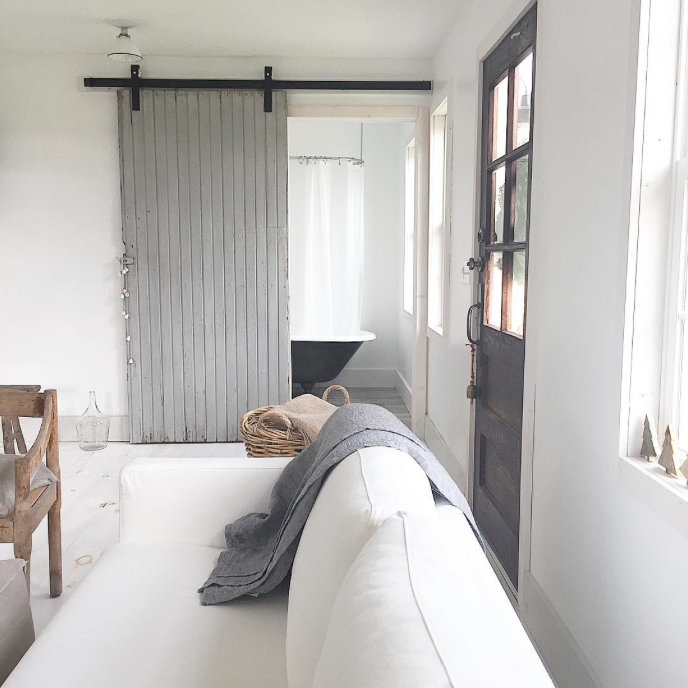 At Home with Angie Wendricks, County Road Living, Tiny house living, tiny home, abode, Indiana, Interior, Design, Design blog, Home Scene Journal, Interior Design, Minimalism, Minimalist living, white interiors