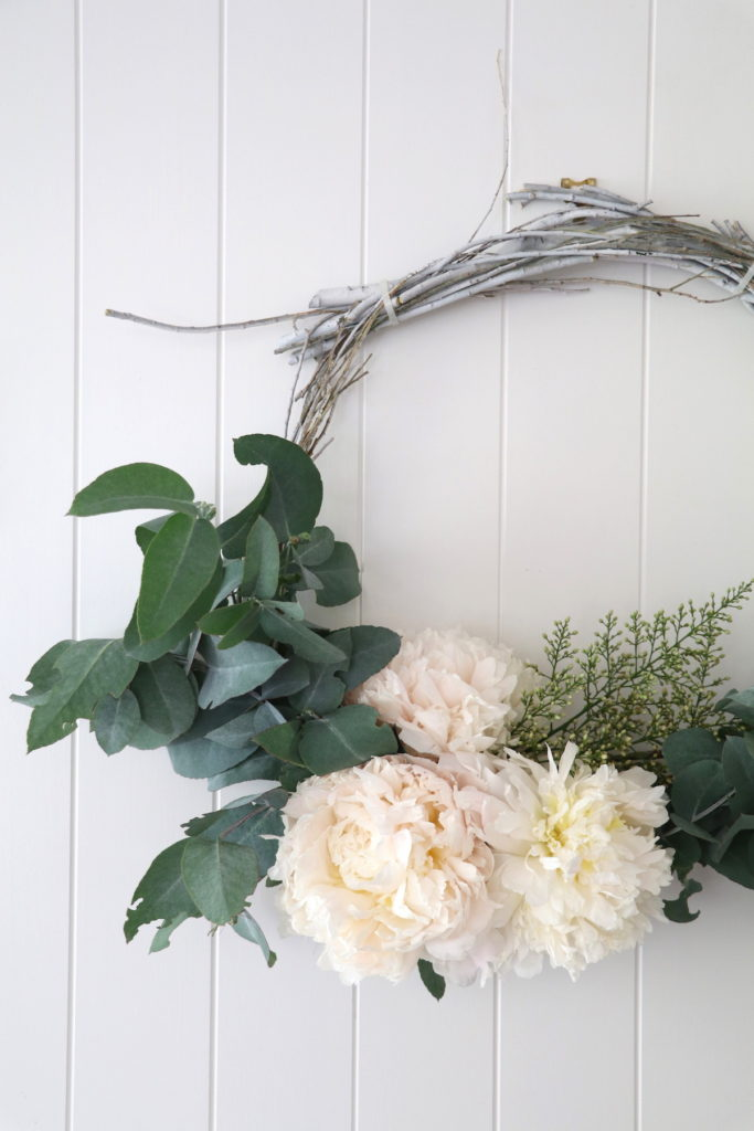 Four Ways with Foraged Christmas Wreaths